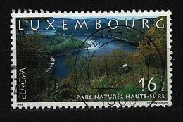 LUXEMBURG - Mi-Nr. 1472 Europa: Natur- Und Nationalparks Gestempelt (3) - Luxemburg