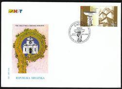 Croatia Zagreb 1998 / 700th Anniversary Of The Sibenik Abbey / Church / FDC - Croatie