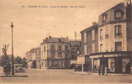 95 - Bezons - Quai De Bezons - Rue De Paris Animée - Bezons