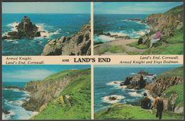 Multiview, Land's End, Cornwall, 1968 - Harvey Barton Postcard - Land's End