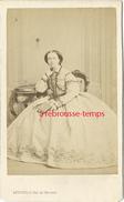 CDV Vers 1860-mode Femme Aristocrate-photo Levitsky Rue De Choiseul à Paris - Berühmtheiten