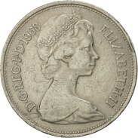 Grande-Bretagne, Elizabeth II, 10 New Pence, 1968, TTB, Copper-nickel, KM:912 - 1971-… : Monnaies Décimales