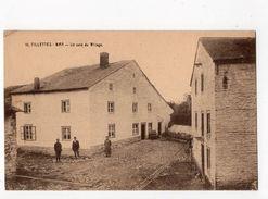12 - BRA-SUR- LIENNE - VILLETTES - Un Coin Du Village *Coll. Hôtel Du Pont-de-Villettes N° 10* - Lierneux