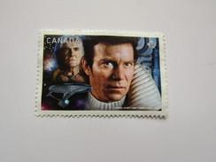 Can144  P   Star Trek  Capt. Kirk   Sc 2986    2017 - Used Stamps