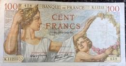 France 100 Francs SULLY 1940 , KM/P94, TB - 1871-1952 Gedurende De XXste In Omloop