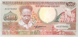 Suriname - Pick 135 - 500 Gulden 1988 - Unc - Surinam