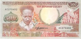 Suriname - Pick 135 - 500 Gulden 1988 - Unc - Suriname