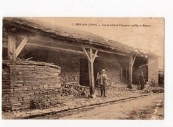 15 - BRA-SUR- LIENNE - Vieille Métairie - Paysanne Coiffée Du Bajolet  *Coll. Hôtel Du Pont-de-Villettes N° 7* - Lierneux