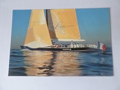 """MARC PAJOT - """"Ville De Paris"""" Base De San Diego AMERICA'S CUP 1992 N°1619 - Voile"""