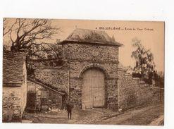 16 - BRA-SUR- LIENNE - Entrée Du Vieux Château  *Coll. Hôtel Du Pont-de-Villettes N° 4* - Lierneux