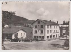 CPSM Grand Format - VOLLORE MONTAGNE - L'Hotel Des Touristes  Voiture Ancienne Citroen Traction 2 Cv Chevaux Camionnette - France
