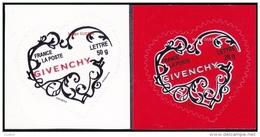 France Autoadhésif N°  102 Et 103 ** Ou 3998 Et 3999 - Cœurs De La Saint Valentin 2007 - Les Givenchy 20 Et  50 Gr - Francia