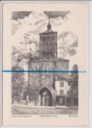 Carte Moderne Dépliante - CLERMONT FERRAND - Eglise Notre Dame Du Pont - YVES DUCOURTIOUX - Clermont Ferrand