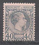 Monaco: Yvert N° 7*; Cote 125.00 - Monaco