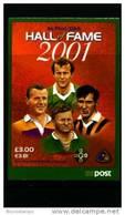 IRELAND/EIRE - 2001  HALL OF FAME   BOOKLET  FINE  USED  FDI CANCEL - Irlanda