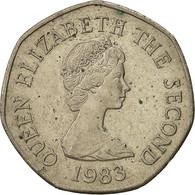 Jersey, Elizabeth II, 20 Pence, 1983, TTB, Copper-nickel, KM:66 - Jersey