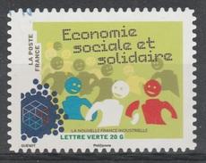 France, Social And Solidarity Economy, 2014, VFU Self-adhesive - Frankrijk