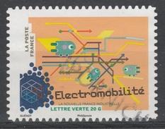 France, Electromobility, 2014, VFU Self-adhesive - Frankrijk