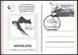 Croatia Novska 2003 / 1st National One Frame Philatelic Exhibition - Croatie
