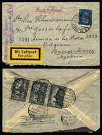 GERMANY: Airmail Cover Sent From Hannover To Argentina On 19/SE/1929 By Air France, - Unclassified