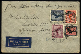 GERMANY: Airmail Cover Sent From Hannover To Argentina On 14/FE/1930 By Air France, - Unclassified
