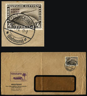 GERMANY: Cover Flown By ZEPPELIN, Sent From Friedrichshafen To Argentina On 18/SE/1 - Germany