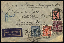 GERMANY: Airmail Cover Sent From Hannover To Argentina On 17/AU/1932 By Air France - Unclassified