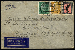 GERMANY: Airmail Cover Sent From Hannover To Argentina On 7/OC/1932 By Air France, - Unclassified