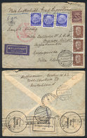 GERMANY: Cover Franked With 3.25Mk., Sent From Berlin To Argentina On 2/AU/1933, Wi - Unclassified