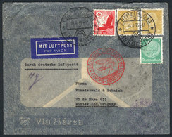 GERMANY: Cover Franked With 1.75Mk., Sent From Leipzig To Uruguay On 18/AP/1935, Wi - Unclassified