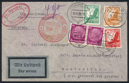 GERMANY: Cover Franked With 1.75Mk., Sent From Pforzheim To Uruguay On 16/NO/1935, - Unclassified
