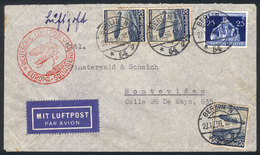 GERMANY: Cover Franked With 1.75Mk., Sent From Berlin To Uruguay On 27/OC/1936, Wit - Germany