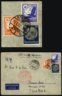 GERMANY: Airmail Cover Sent From Hannover To Argentina On 16/JA/1937 Franked With 1 - Unclassified