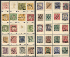 GERMANY: Old Approvals Book With Interesting Stamps, Including Many Of States And C - Germany