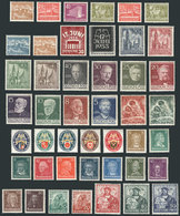 GERMANY: Lot Of Good Stamps And Sets, Used Or Mint (they Can Be MNH, Lightly Hinged - Unclassified