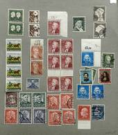 GERMANY: Collection In Album That Includes Many Good Values, Mint And Used, Fine Ge - Unclassified