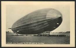 GERMANY: Graf Zeppelin (LZ 127) After Landing, Circa 1930, Unused, Excellent Qualit - Leipzig