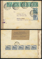 WEST GERMANY: Cover Sent From Hamburg-Bergedorf To Buenos Aires On 22/JUN/1948, Wit - [7] Federal Republic