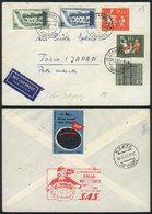 WEST GERMANY: 24/FE/1957: First S.A.S. Flight Scandinavia-Tokyo (Japan) Via The Nor - [7] Federal Republic