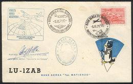 ANTARCTICA: 9/JUL/1971: Argentina Air Force, Antarctic Airmail, Inter-base Service. - Stamps