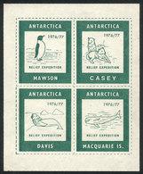 ANTARCTICA: British Relief Expedition Of 1976/7, VF Quality! - Cinderellas