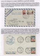 ARGENTINE ANTARCTICA: 30/JUN/1970: Rescue Flight To The Scientific Station Almirant - Argentina
