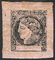 ARGENTINA: GJ.13, Dull Rose, Beautiful Example With Immense Margins And Original Gu - Corrientes (1856-1880)