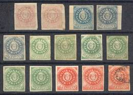ARGENTINA: Lot Of Stamp FORGERIES, Some Are Very Well Made, Interesting Group To St - Argentina