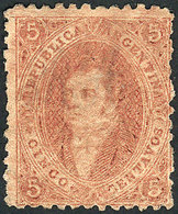 ARGENTINA: GJ.20, 3rd Printing, COFFEE Color, Mint, Very Fine Quality, Rare! - Argentina