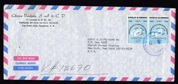 Honduras: Registered Airmail Cover To USA, 3 Stamps, CARE Aid, UPU, Philately, Rare Real Use! (minor Damage) - Honduras