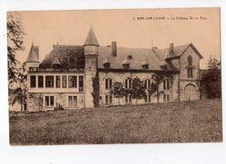 17 - BRA-SUR- LIENNE - Le Château Vu Du Parc  *Coll. Hôtel Du Pont-de-Villettes N° 5* - Lierneux