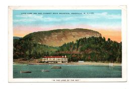 ETATS-UNIS . NORTH CAROLINA . ASHEVILLE . LAKE LURE INN AND CHIMMEY ROCK MONTAIN - Réf. N°6659 - - Asheville