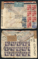 JAPAN: Airmail Cover Sent From Kobe To Argentina On 18/AU/1941 With Colorful Postag - Japan