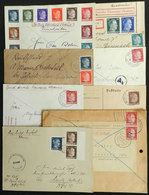 UKRAINE: 7 Covers + 1 Fragment Used During The German Occupation, Interesting! - Ukraine